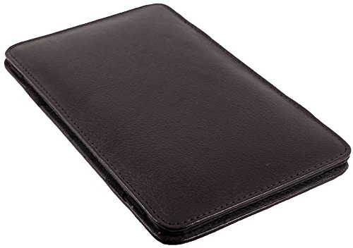 Money Flip Soft Wallet Puzzle Magic Milkman Dark Leather Quality Cowhide Brown wIqxSPn0I1