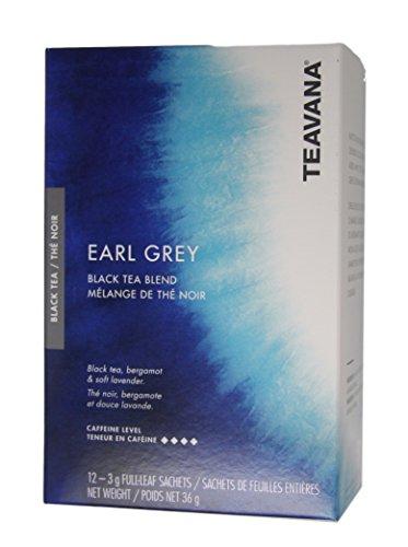 Teavana - Black Tea - Earl Grey Tea - 12 Sachets