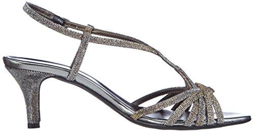 Sandalias plateadas tiras 21 Vista Multi Si para Silber de 424m mujeres Xqw1IPIE