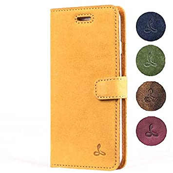 separation shoes 7a295 d6789 Snakehive iPhone 6S / 6 Case, Luxury Genuine Leather Wallet with Card  Slots, Flip Cover Gift Boxed and Handmade in Europe for Apple iPhone 6S / 6  - ...