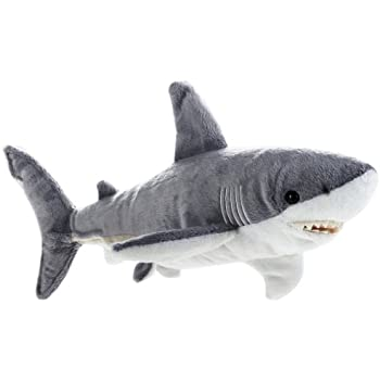 National geographic shark plush medium size for Life size shark plush