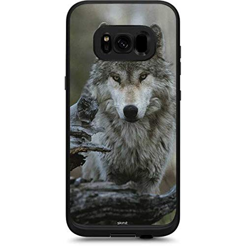 newest 09734 1e012 Amazon.com: Skinit Stoic Gray Wolf LifeProof Fre Galaxy S8 Skin ...