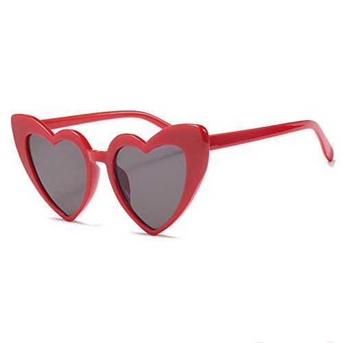 De Moda Gafas Cat Eyewear Sol Red Gafas Love Red Love De gaddw4q