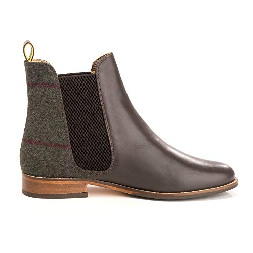Joules Para Check Chelsea Westbourne Botas Mujer Green wvRFwxBr