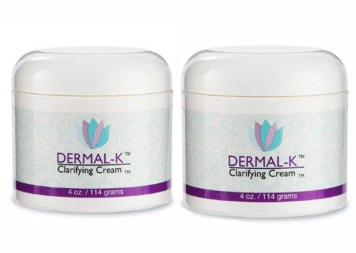 Dermal-K 4 oz Vitamin K Clarifying Cream Dixie Health - 2 Pack (K Healing Vitamin Cream)
