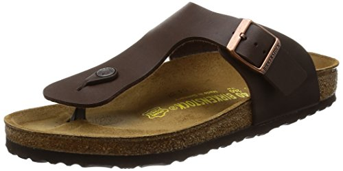 8c8414fcbc0d Birkenstock Men´s Ramses Dark Brown Birko Flor Sandals 40 EU (7-7.5 R US  Men 9-9.5 R US Women) R 044701