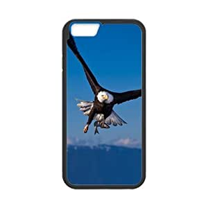 iPhone 6 Case, Flying Eagle Blue Sky TPU Frame & PC Hard Back Protective Cover Bumper Case for Iphone 6 (4.7) ()