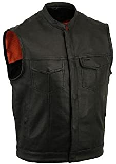 Gilet Cuir Biker Sons of Anarchy Taille  Amazon.fr  Sports et Loisirs 379a2fb548e