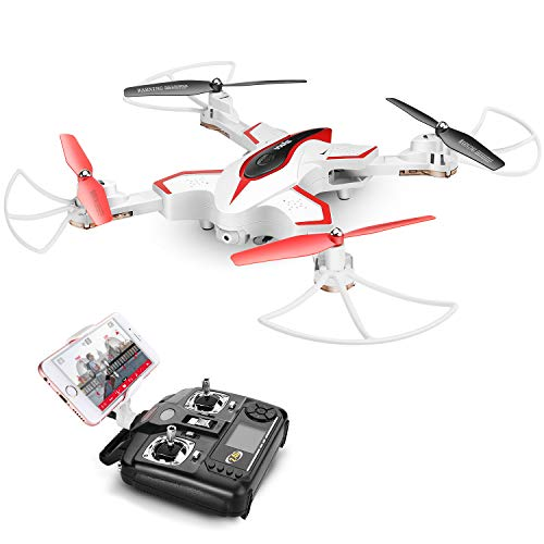 Remote Control Toys Rc Helicopters Initiative Foldable Mini Rc Drone Dron Wifi Altitude Hold One Key Takeoff 360-degree Stunt High Low Speed Quadcopter Remote Control Toys