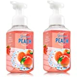 Bath & Body Works Georgia Peach Gentle Foaming Hand Soap - Pack of 2