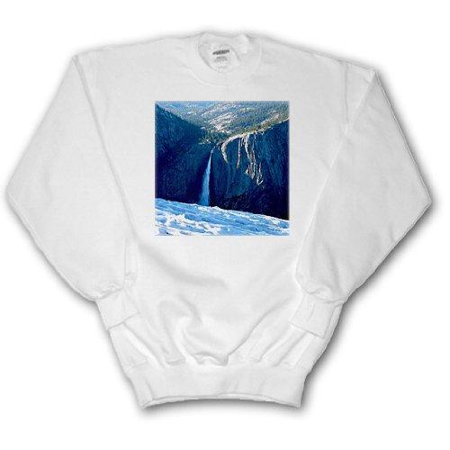 Sandy Mertens California - Yosemite Falls Sentinel Dome - Sweatshirts - Adult SweatShirt Large - Sentinel Dome