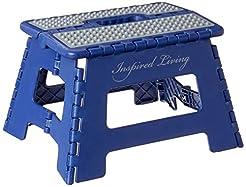 Inspired Living Folding Step Stool Heavy...