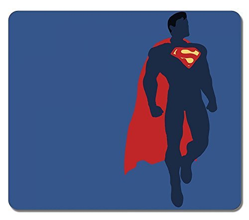 Customized Non-Slip Large Textured Surface Water Resistent Mousepad Justice League Superman Dc Comics Durable Large Gaming Mouse Pads Oblong Mousepad
