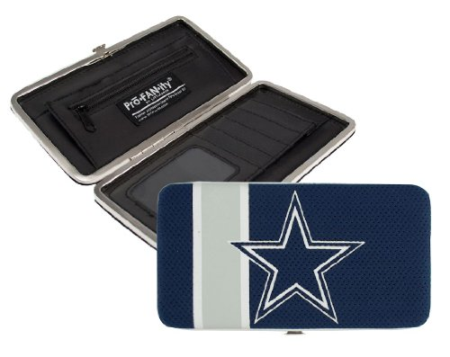 Dallas Cowboys Checkbook Cover (NFL Dallas Cowboys Shell Mesh Wallet)