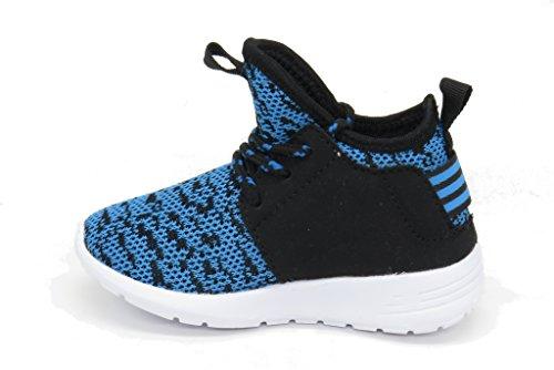 Blue Berry EASY21 Damen und Kinder Breathable Fashion Sneakers Casual Slip-on Loafers Sportschuhe Sportschuhe Türkis-50