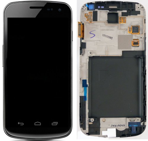 Full LCD Screen Display + Touch Screen Digitizer Front Glass Faceplate Lens Part Panel for Samsung Galxaxy nexus I515 ~ Mobile Phone Repair Parts Replacement