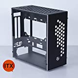 ITX Mid Tower Gaming PC Computer Case Metal Mini