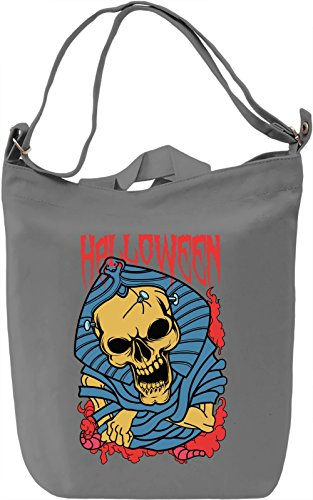 Halloween mummy Borsa Giornaliera Canvas Canvas Day Bag| 100% Premium Cotton Canvas| DTG Printing|