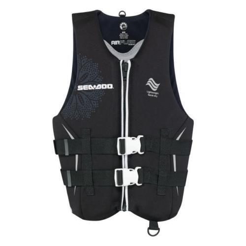 新しいBRP sea-dooレディースecoprene Airflow PFDライフベストjacket-adult X L黒   B01N0X71A4