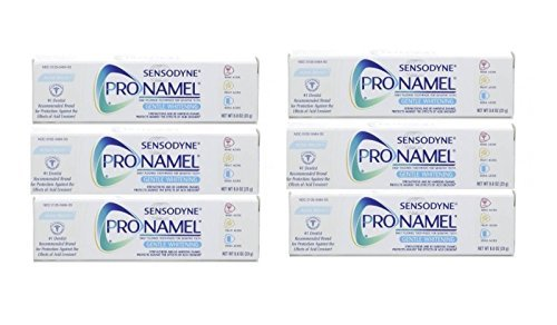 Sensodyne Pronamel Toothpaste, Gentle Whitening, Alpine Breeze Travel Size 0.8 Ounce (Pack Of 6)