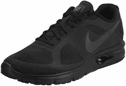 fb40c8543610 Nike Men s Air Max Sequent Running Shoe Black Dark Grey Size 9.5 M US