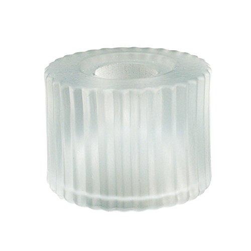 WAC Lighting G112-WT G100 Series Cylinder Glass Shade, White