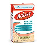 BOOST GLUCOSE CONTROL Nutritional Drink - Vanilla, Case Of 27 by Nestle Nutritional