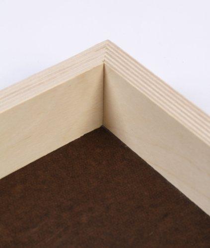 Jack Richeson 2-Inch Premium Tempered Gessoed Hardboard Panel, 4-Inch by 4-Inch