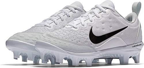 Platinum black White Women's Size pure 10 Pro Hyperdiamond Softball Mcs Cleat Nike M 2 Us vqgwT8B8