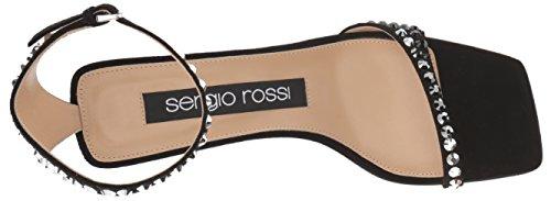 Tacco Nero Sergio Sr1 Donna Rossi Sandalo 1Eqq0