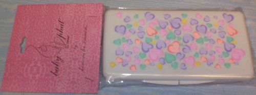Baby Phat Multicolor Hearts Baby Wipes Case by Baby Phat