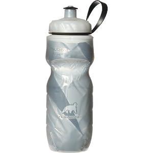 Polar Bottle Sport Insulated 20 oz Water Bottle - Black Pattern WLM