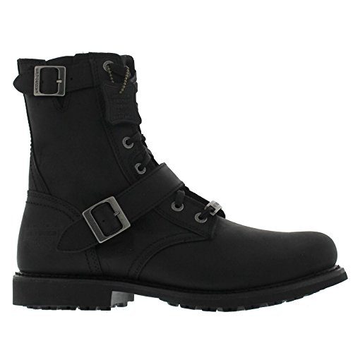 Mens Black Riding Boots - 6