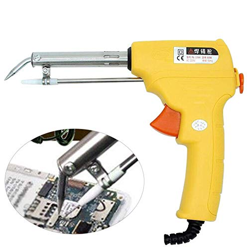 Solder Feed - Manual 110V 60W Welding Tool,Auto Welding Automatic Feed Soldering Iron Electric Temperature Tool Adjustable Solder Tool Kit Fast Heating,300-400 degrees Celsius(US Plug)