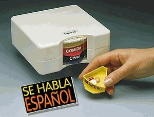 Spanish Pillbox Organizer Pill Planner