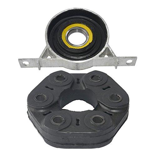 arrier Bearing Support Flex Disc 26127501257 Compatible For BMW 3Series E46 E28 E34 E36 E39 Z4 Z3 ()