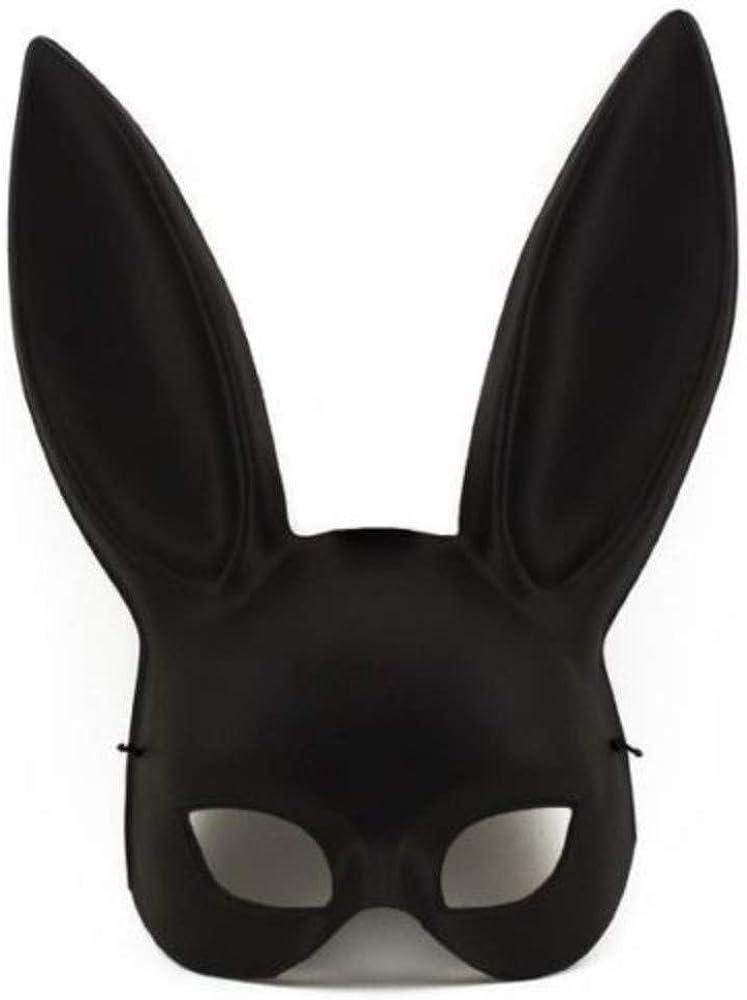 Amazon.com: Black Masquerade Bunny Rabbit Ariana Grande Mask ...