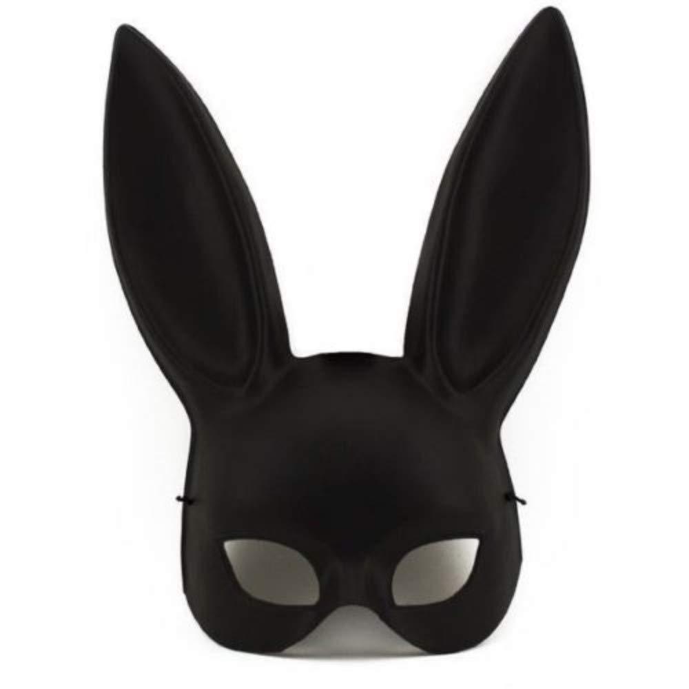 Amazon Com Black Masquerade Bunny Rabbit Ariana Grande Mask Adult