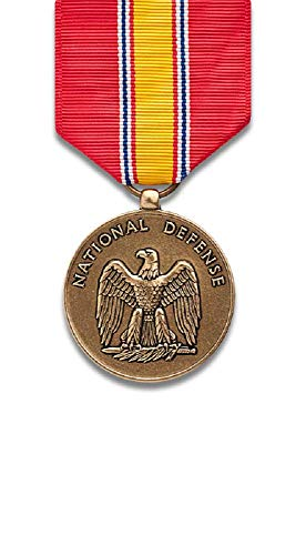 National Defense Service Medal, bronze finish (Army Service Medal)