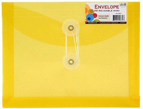 DocIt Number 6 Mini Envelope, Single Reu - Doc Envelope Shopping Results