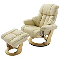 Robas Lund, Sessel, Relaxsessel, Calgary mit Hocker