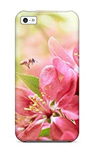 Excellent Design Flower Case Cover For Iphone 5c by supermalls