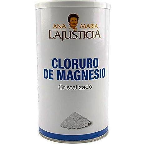 Amazon.com: ANA MARIA LAJUSTICIA CLORURO MAGNESIO 400 gr.: Health & Personal Care