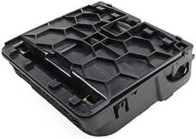 Amazon.es: Generic negro trasera reposabrazos portavasos de la consola central para VW Jetta MK5 Golf MK6