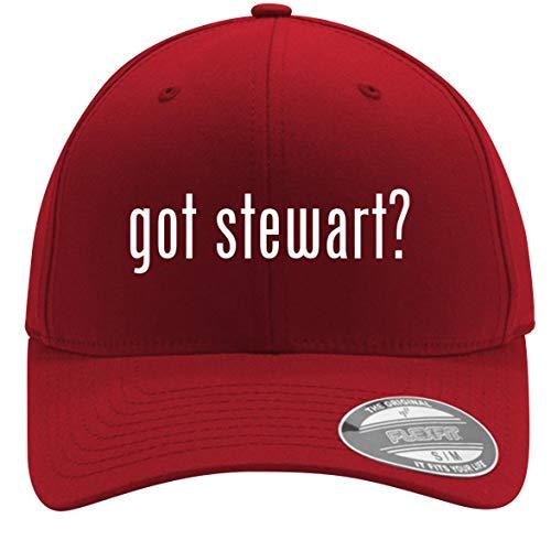 - got Stewart? - Adult Men's Flexfit Baseball Hat Cap, Red, Large/X-Large