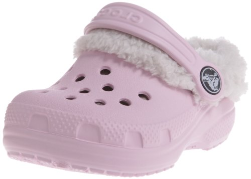 - Crocs Littles Mammoth Fuzzy Clog (Infant/Toddler),Bubblegum,4-5 M US Toddler