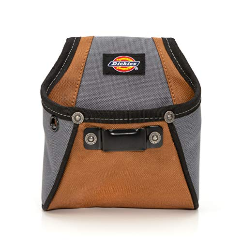 - Dickies Work Gear 57101 Rigid Nail/Screw Work Pouch with Tape Measure Clip