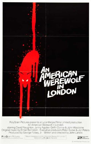 An American Werewolf in London 27 x 40 Movie Poster - Style G