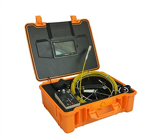 Pal Reel (GOWE 7'' TFT LCD DVR Pipe and Wall Inspection Camera System with DVR 30m push cable reel Sensor Size:1/4