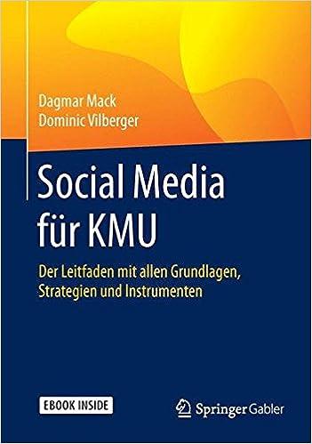 Cover des Buchs: Social Media für KMU: Der Leitfaden mit allen Grundlagen, Strategien und Instrumenten